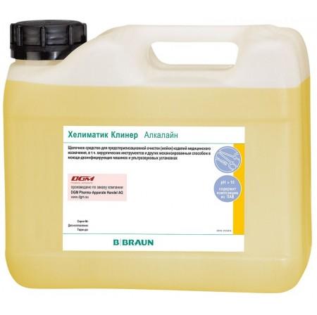 Cредства для очистки медицинских изделий «Bbraun» Хелиматик Клинер Алкалайн