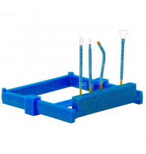 Раздвижной защитный лоток для стерилизации электродов